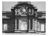 Pediment of Palais Du Luxembourg, 1840 Giclee Print by Pradier 
