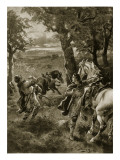The Death of William Rufus, 1100 Giclee Print by Henry Payne