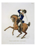Westminster Cavalry Volunteer, Plate 4 Giclee Print by  Rowlandson
