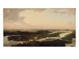 View of Potsdam in the 17th Century, 1851 Reproduction procédé giclée par August Kopisch