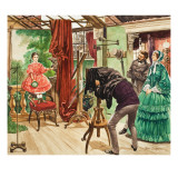 Nineteenth Century Photography Session Giclee Print by Peter Jackson