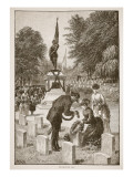 Decoration Day, from a Book Pub. 1896 Giclee Print by American School 