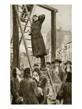 The Execution of James Guthrie, 1661 Giclee Print by William Henry Margetson