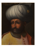 Portrait of Sultan Selim Ii 'The Destroyer' Premium Giclee Print by Cristofano Dell'altissimo