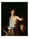 David with the Head of Goliath, 1606 Giclee Print by  Caravaggio