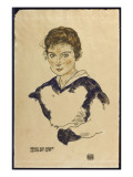 Portrait of Fraulein Toni Rieger Giclee Print by Egon Schiele