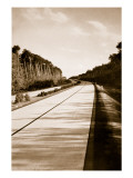 A Typical Section of a National Motor Road Giclee Print by German Photographer
