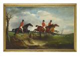 The Squire&#39; with the Quorn, 1827 Giclee Print by John E. Ferneley