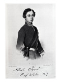 Edward, Prince of Wales, Engraved by Emery Walker Giclee Print by Franz Xavier Winterhalter