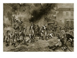 The Defence of Hougoumont, June 18Th, 1815 Giclee Print by Robert Alexander Hillingford