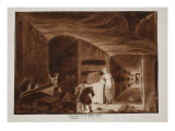 The Catacombs of St. Calixtus, 1833 Giclee Print by Agostino Tofanelli