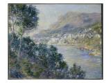Monte Carlo, Vue De Cap Martin, 1884 Giclee Print by Claude Monet