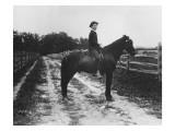 Mr. Eugene Du Pont's Boy on Horseback Impression giclée par Pierre Gentieu