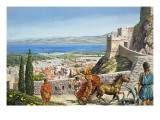 Corinth - Citadel at the Crossroads Giclee Print by Payne