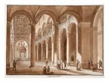 Basilica of Sant'Agnese Fuori Le Mura, 1833 Premium Giclee Print by Agostino Tofanelli
