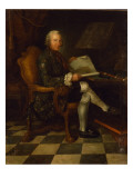 Isaac Egmont Von Chasot at His Desk Giclee Print by  German School