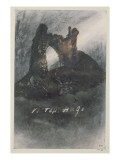 Ruins at Groz-Nez, Jersey, or the Arch Giclee Print by Victor Hugo