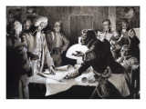 The Man Who Made the United States Giclee Print by Frank Marsden Lea