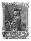 Portrait of Frederick Ii, the Great Giclee Print by  German School