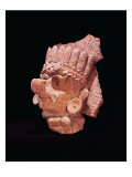Head of the Mayan Corn God, Oaxaca, C.500 Ad Giclee Print by  Mayan