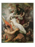 The Immortality of Nelson, 1807 Giclee Print by Benjamin West