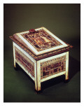 Coffer, from the Tomb of Tutankhamun Reproduction procédé giclée par Egyptian 18th Dynasty