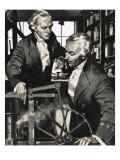 James Watt: the Man Who Harnessed Steam Giclee Print by Frank Marsden Lea