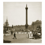Trafalgar Square, London, 11th May 1893 Giclee Print by  Portuguese Photographer