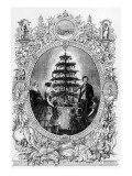 Christmas Tree at Windsor Castle, 1848 Giclee Print by J.l. Williams