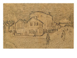 The Artist's House in Arles Reproduction procédé giclée par Vincent van Gogh