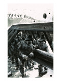 The Mercenaries: the White Company Giclee Print by Graham Coton