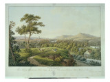 View of Jena from Rasenhuehlberg, C.1810 Giclee Print by Joseph Roux