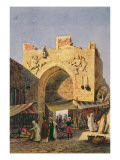 The Gate of Konya, Asia Minor Lámina giclée por Charles Pierron