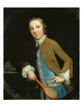 Portrait of Master Francis Barrell, 1750S Reproduction procédé giclée par George Knapton
