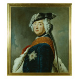 Frederick Ii the Great of Prussia Giclée-tryk af German School