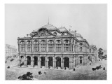 Competition Project for the Opera of Paris Giclee Print by Eugene Emmanuel Viollet-le-Duc