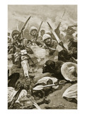 The Square at Abu-Klea, January 17Th, 1885 Giclee Print by Stanley L. Wood
