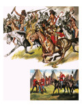 Tales of the Canadian Mounties: Walsh the Fearless Giclee Print by  Mcbride