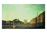View of St. Paul's, Covent Garden, 1762 Giclee Print by John Inigo Richards