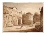 The Porta Turrionis, or Cavalleggeri, 1833 Giclee Print by Agostino Tofanelli