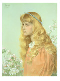 Portrait of Miss Adele Donaldson, 1897 Giclee Print by Frederick Augustus Sandys