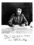 Marshal Paul Von Hindenburg, 1914 Giclee Print by  German photographer