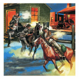 Billy the Kid -- the Infamous Gunman Giclee Print by Ron Embleton