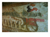 Mural from the Tomb of the Infernal Quadriga Giclee Print by  Etruscan