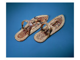 Sandals, Tomb of Tutankhamun, New Kingdom Reproduction procédé giclée par Egyptian 18th Dynasty