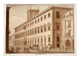 The Palazzo Ruspoli Al Corso, 1833 Giclee Print by Agostino Tofanelli