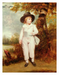 John Charles Spencer, Viscount Althorp, 1786 Lámina giclée por Sir Joshua Reynolds