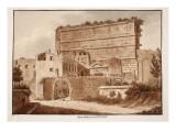 Porta Maggiore or Prenestina, 1833 Giclee Print by Agostino Tofanelli