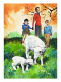 Sheep, Illustration from &#39;Teddy Bear&#39;, 1965 Giclee Print by Jesus Blasco