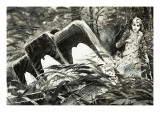 Survival: Lost in the Jungle Giclee Print by Graham Coton